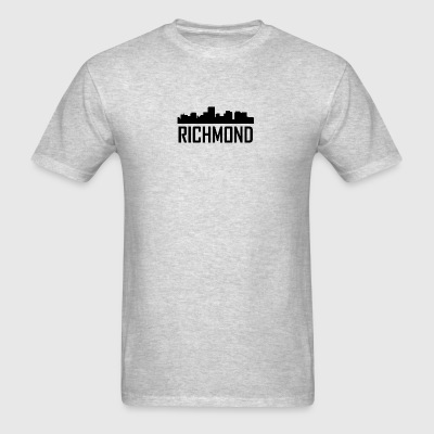 Richmond Virginia City Skyline - Men's T-Shirt
