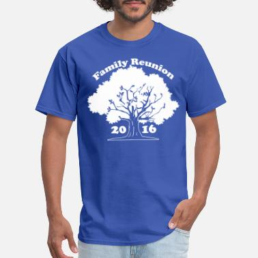 Tree Family Reunion Oak Tree 2016 - Men's T-Shirt