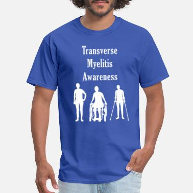 Myelitis Transverse Myelitis Awareness - Men's T-Shirt