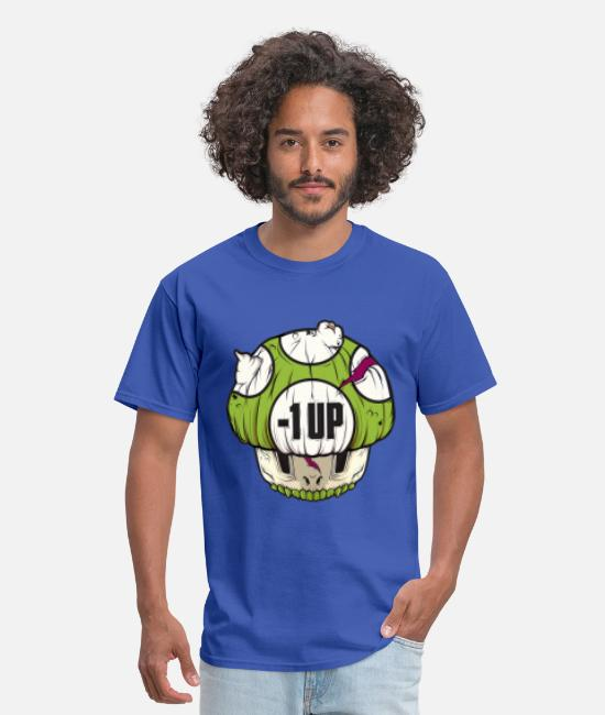Funny Halloween T-Shirts - Mario Mushroom - Men's T-Shirt royal blue