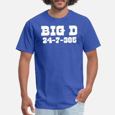 365 Big D 24-7-365 Shirt - For Dallas Football Fans - Men's T-Shirt
