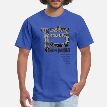 Lucky Number Lucky Number - Men's T-Shirt