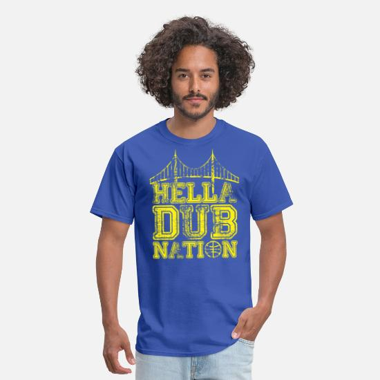 Bay T-Shirts - DUBNATION - Men's T-Shirt royal blue