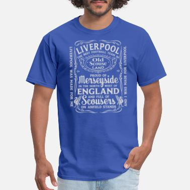 Ynwa Liverpool The Best Team In Old Scouse Land - Men's T-Shirt