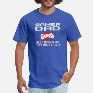 Normal Dad GAME DAD LIKE A NORMAL DAD - Men's T-Shirt