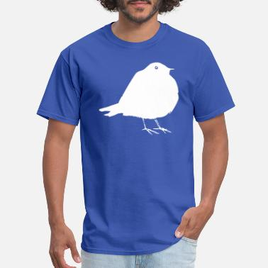 Canary Fat Bird Parrot Swallow Budgie Owl Gift - Men's T-Shirt