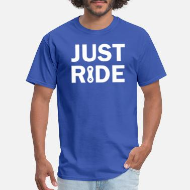 Just Ride Just Ride Mountainbike cyclist chain - Men's T-Shirt