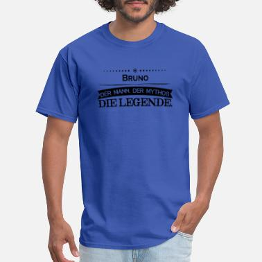 Mythos Mythos Legende Vorname Bruno - Men's T-Shirt