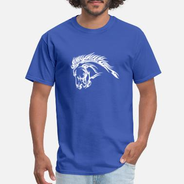 Blm Mustang - Men's T-Shirt