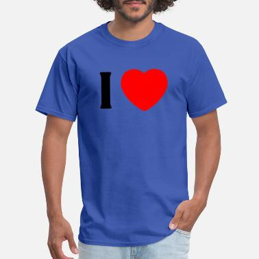 I Love Grandpa I Love my grandpa - Men's T-Shirt