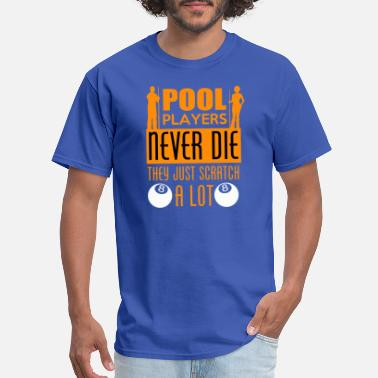 Never Die Pull Player Never Die - Men's T-Shirt