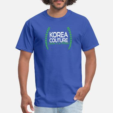 Couture Korea Couture - Couture is an Attitude - Men's T-Shirt