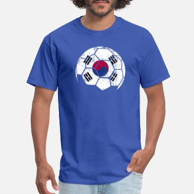 South Korea Soccer South Korea Soccer Football Ball - Men's T-Shirt