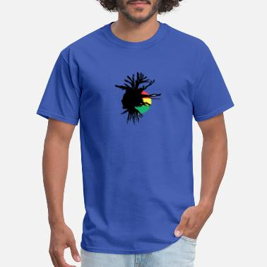 Afro DREADS EMBLEM 2 - Men's T-Shirt