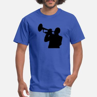 Trumpet-player trumpet player - Men's T-Shirt