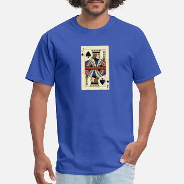 Jacked Cards Cool and Trendy Jack Card Design - Men's T-Shirt