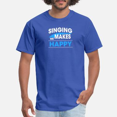 Singing Voice SINGING - Men's T-Shirt