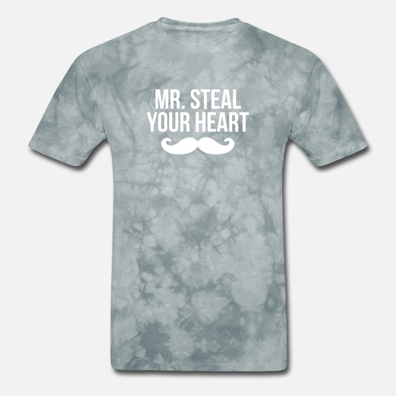 016c69e55 Mr Steal Your Girl Mustache Funny Valentines Day Men's T-Shirt | Spreadshirt