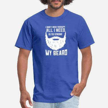 Design Humor Bearded Humor Designs - Men's T-Shirt