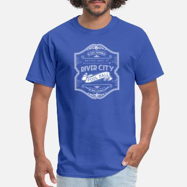 Music Hall River City Pool Hall - The Music Man - Men's T-Shirt