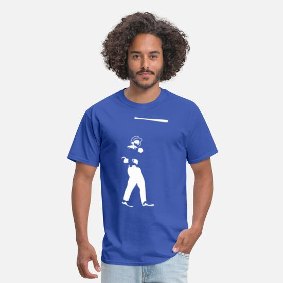 Baseball T-Shirts - Batflip - Men's T-Shirt royal blue