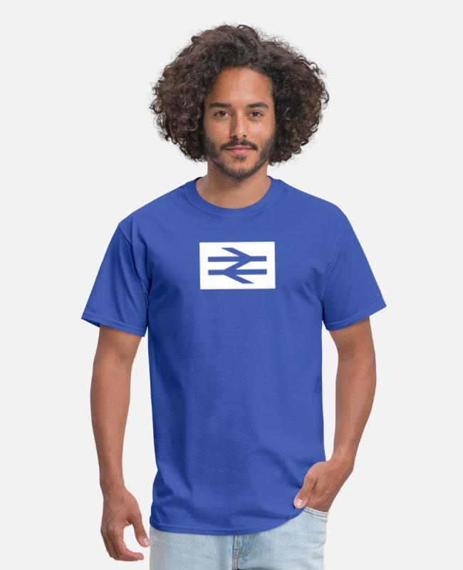 Quote T-Shirts - Away Day - Men's T-Shirt royal blue