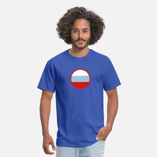 Saint Petersburg T-Shirts - Under The Sign Of Russia - Men's T-Shirt royal blue