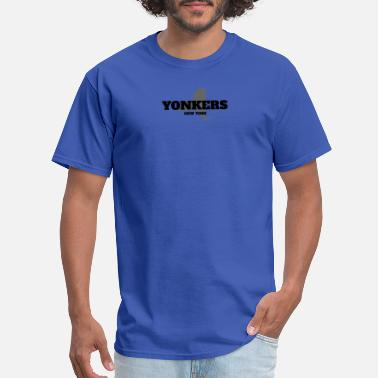 State NEW YORK YONKERS US STATE EDITION - Men's T-Shirt