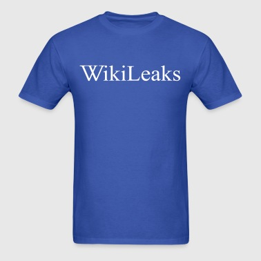 Wikileaks Logo - Men's T-Shirt