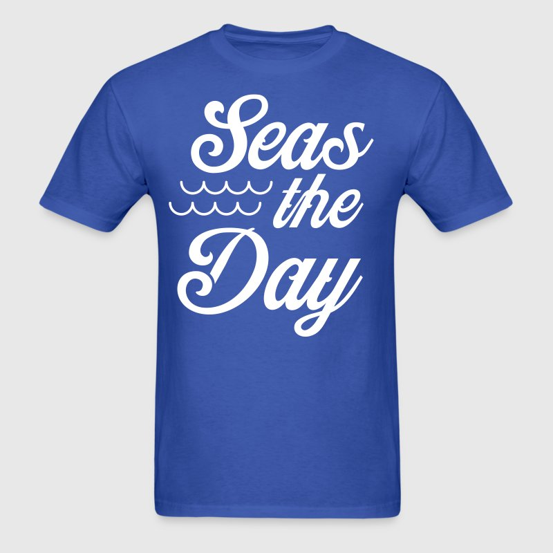 Seas the day - Men's T-Shirt