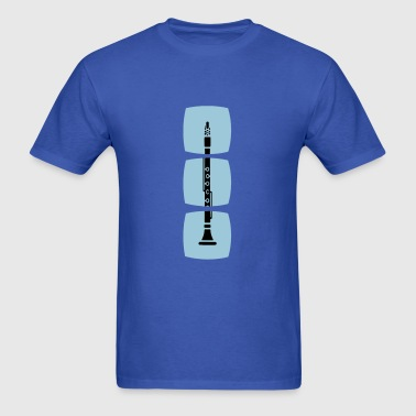 The clarinet in the series of woodwind instruments - Men's T-Shirt