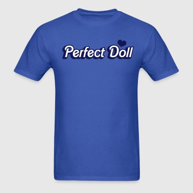 perfect doll in barbie like font - Men's T-Shirt