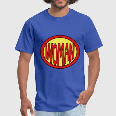 Super, Hero, Heroine, Super Woman - Men's T-Shirt