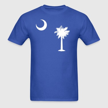 Flag of South Carolina Shirt - Men's T-Shirt