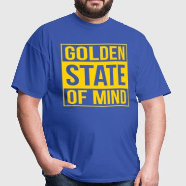 golden state of mind - Men's T-Shirt