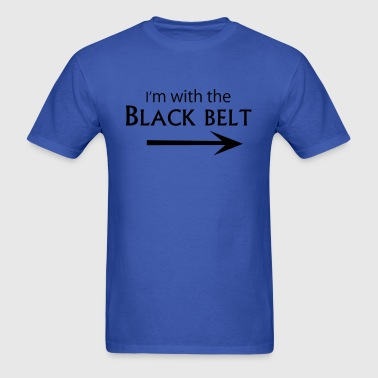 With the Black Belt - Men's T-Shirt
