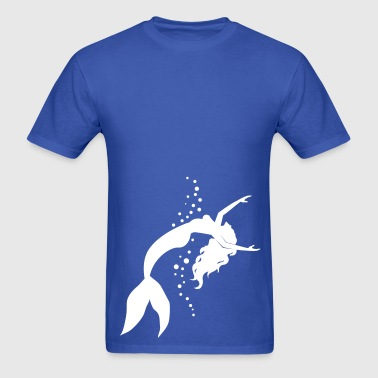 mermaid - Men's T-Shirt