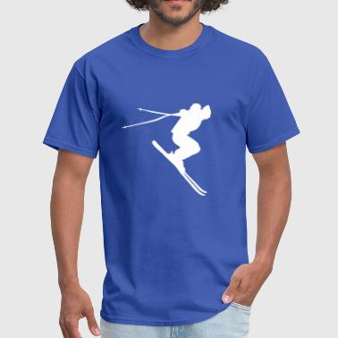 skiing, ski - Men's T-Shirt