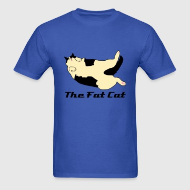 The Fat Cat - Men's T-Shirt