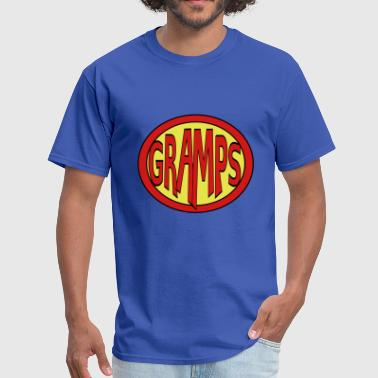 Super, Hero, Heroine, Super Gramps - Men's T-Shirt