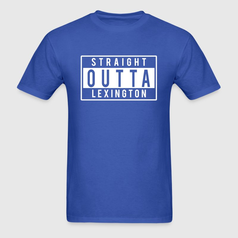 Straight Outta Lexington - Men's T-Shirt