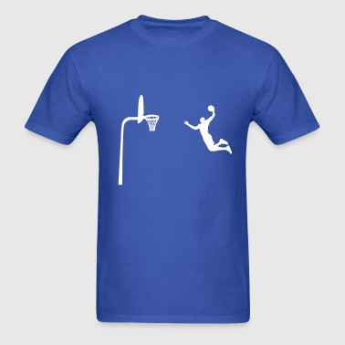 Free throw line Dunk - Men's T-Shirt