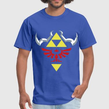 Hylian Shield Hylian (Royal Blue) - Men's T-Shirt