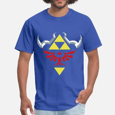 Royal Blue Hylian (Royal Blue) - Men's T-Shirt