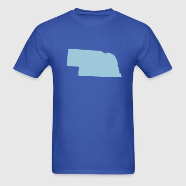 State Nebraska - Men's T-Shirt