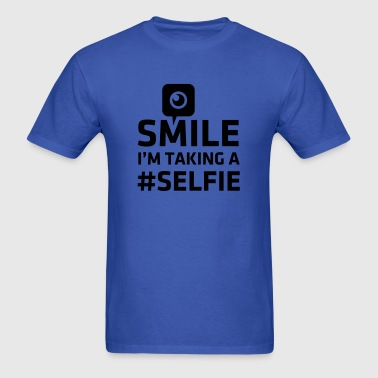 Love taking Selfie photo camera instagram smile - Men's T-Shirt
