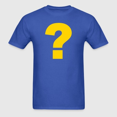 Question mark - Men's T-Shirt