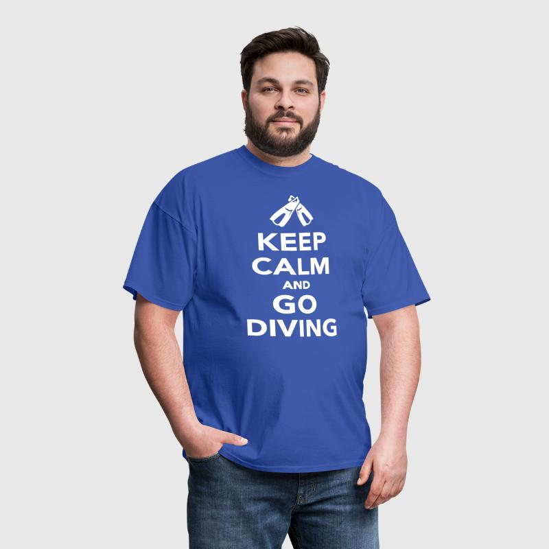 Keep calm and go Diving - Men's T-Shirt
