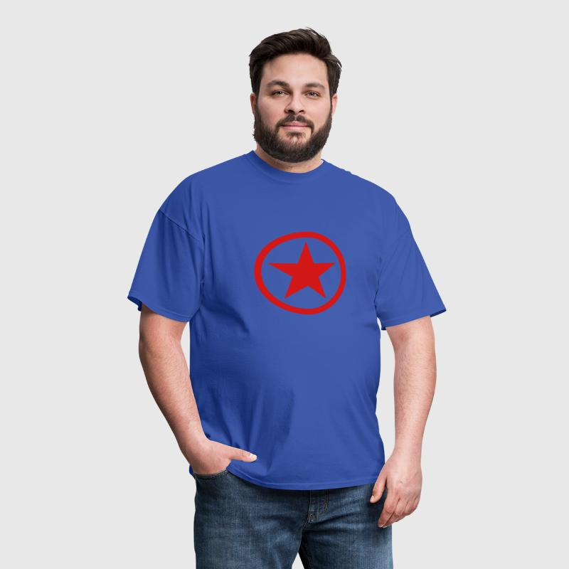 Circle Star - Men's T-Shirt