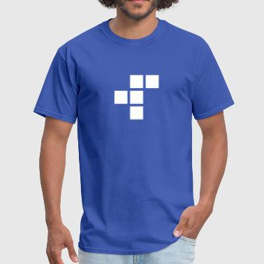 R-pentomino-plain-1 - Men's T-Shirt